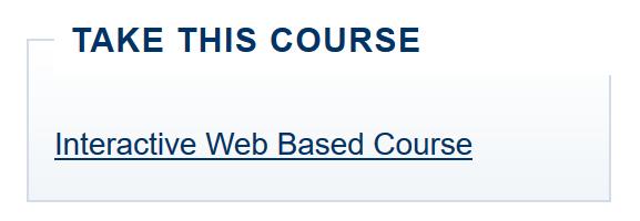 FEMA IS-100 Online Course   Eastern Division NSP -- Patroller School